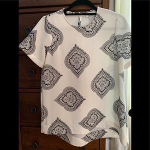 Excellent condition madewell high low swing top